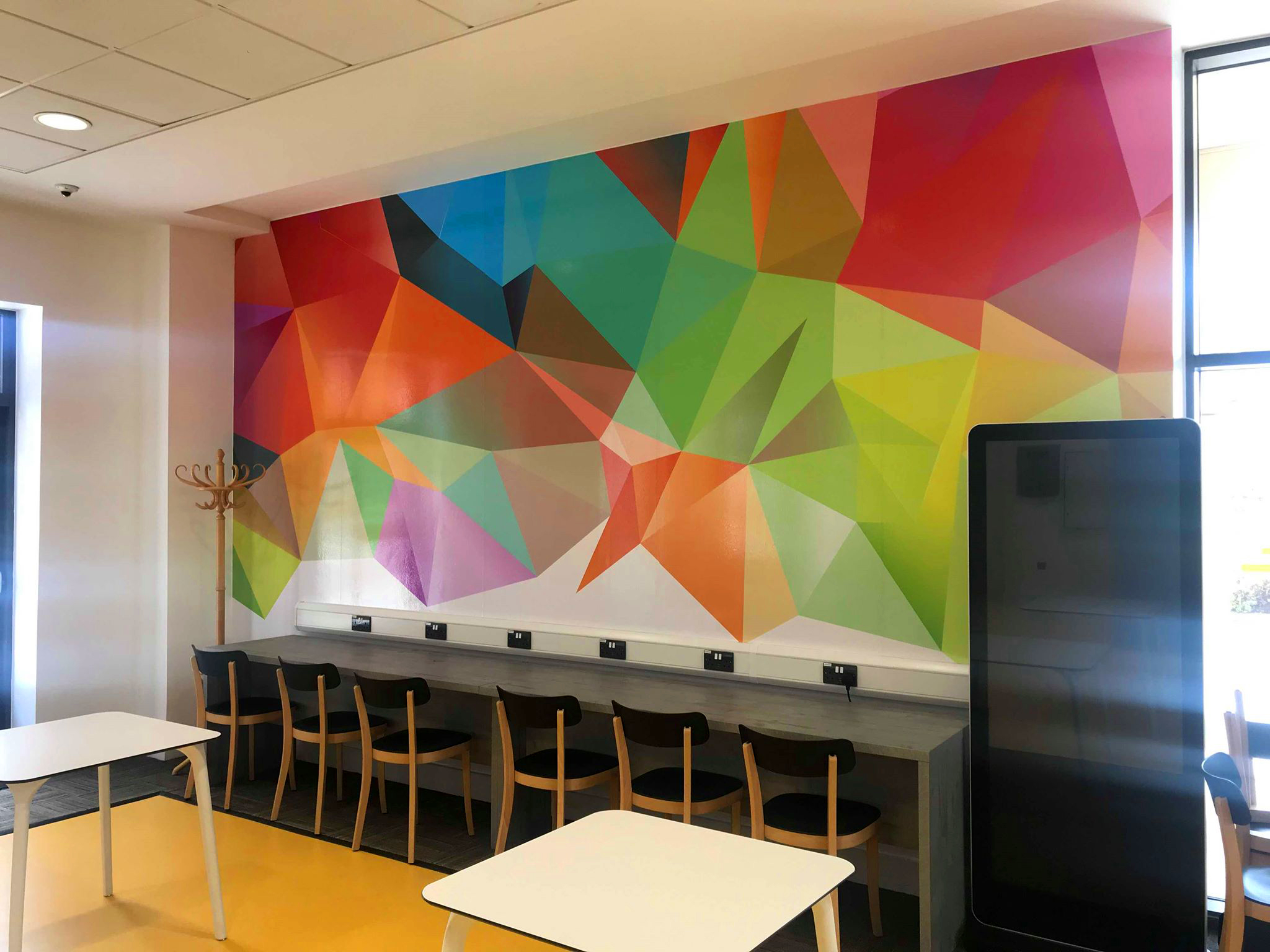 Ministry Graphics wall mural